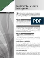 Fundamentals of Edema Management