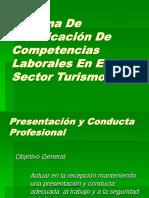 Presentación y Conducta profesional