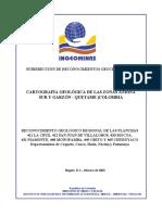 Memoria 411 La Cruz 412 San Juan de Villalobos 430 Mocoa 431 Piamonte 448 Monopamba 449 Orito 465 Churuyaco.pdf