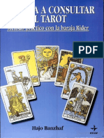 Hajo Banzhaf APRENDA Consultar El Tarot