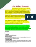 Los Viajes De Gulliver Resumen