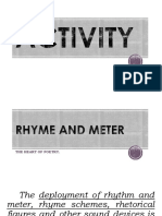 Lesson 2 Rhyme and Meter-Creative Writing