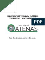 Vigente_Reglamento Especial para Empresas Contratistas