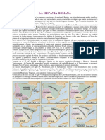 La hispania romana - Alto imperio y bajo imperio romano (cronología)