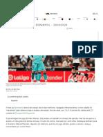 Barcelona perde para o Valencia pelo Espanhol