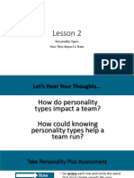 lesson2  personality