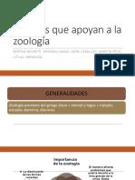 Ciencias que apoyan a la zoología.pptx