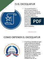 QUE ES EL EXCEQUATUR.pptx