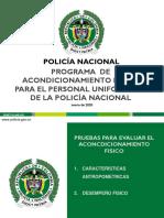 PRUEBAS DEL ACONDICIONAMIENTO FISICO. ACTUALIZADAS