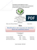 MOULAY-HAMZA Modélisation Des Sources de Vibration