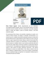 Flavio Rómulo Augusto-EL ULTIMO EMPERADOR ROMANO