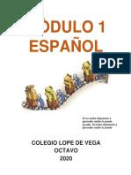 ESPAÑOL MODULO 1 OCTAVO