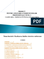 liniile electrice subterane powerpoint