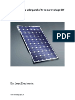 How to create a solar panel by jescelectronic EN
