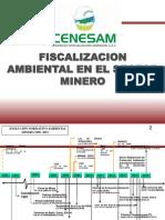 Fiscalizaciòn ambiental en el sector minero