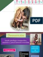Desnutricion -CONCEPTOS BASICOS Y LA ALIMENTACIN  copia