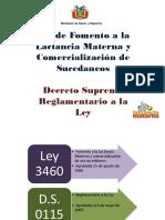 sesion 4 protegiendo la LM Ley de LM y Reglamento de ley