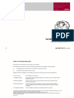 Bombas de Vazão Variável HPV 105-02 - Linde