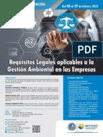 REQUISITOS LEGALES AMBIENTALES APLICABLES A LA GESTIÓN DE LA EMPRESAS