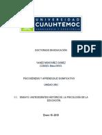 1.1. Ensayo. Antecedentes históricos. La psicología de la educación (Autoguardado) (Autoguardado) (Autoguardado).pdf