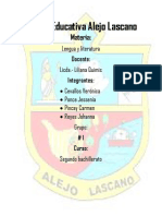 Unidad Educativa Alejo Lascano