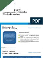 Charla Empresa Tecnicos Extranjeros