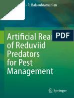 K. Sahayaraj, R. Balasubramanian (auth.) - Artificial Rearing of Reduviid Predators for Pest Management -Springer Singapore (2016)