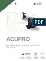 Catálogo Acupro