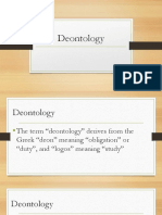 Deontology (1)