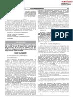MODIFICAN LA LEY DE REFORMA MAGISTERIAL Y SU REGLAMENTACION - DS-001-2020-MINEDU_ACCESO Y DESIGNACION DE CARGOS, EVAL DE DESEMPEÑO,LICENCIA SINDICAL, NEGOCIACION COLECTIVA,