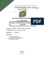 INDICADORES E ÍNDICES DE GESTIÓN
