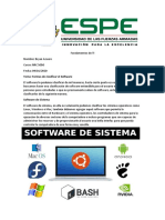 clasificacion de sofware
