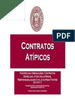 Semana 3 - Contratos Atípicos e Contratos Coligados