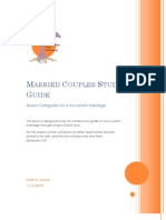 Married Couples Study Template