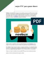 NeoBux ganar dinero