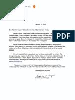 St. Zachary Letter