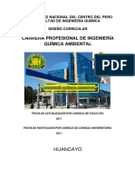 DISEÑO CURRICULAR 2018 INGENIERIA QUIMICA AMBIENTAL