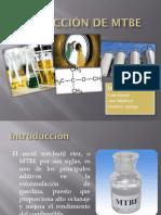Producción de MTBE presentacion PP