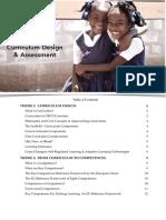 Briefing Book_Curriculum Design and Assessment