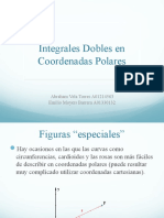 Integrales Dobles Con Coordenadas Polares