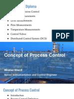 Concept of Process Control - Moataz Sherif