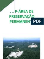 APP-ÁREA DE PRESERVAÇÃO PERMANENTE