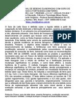 AVALIAÇÃO SENSORIAL DE BEBIDAS ELABORADAS COM SORO DE LEITE DOCE E FORTIFICADAS COM FERRO