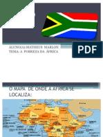 TRABALHO DA ÁFRICA