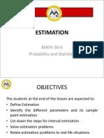 L14 Estimation