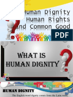 Human Dignity and Common Good