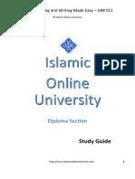 Arabic Study Guide