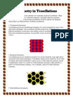 Symmetry in Tessellations
