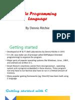 C The Programming Language
