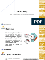 Modulo 9 USO DE BOTIQUIN DE PRIMEROS AUXILIOS.pdf